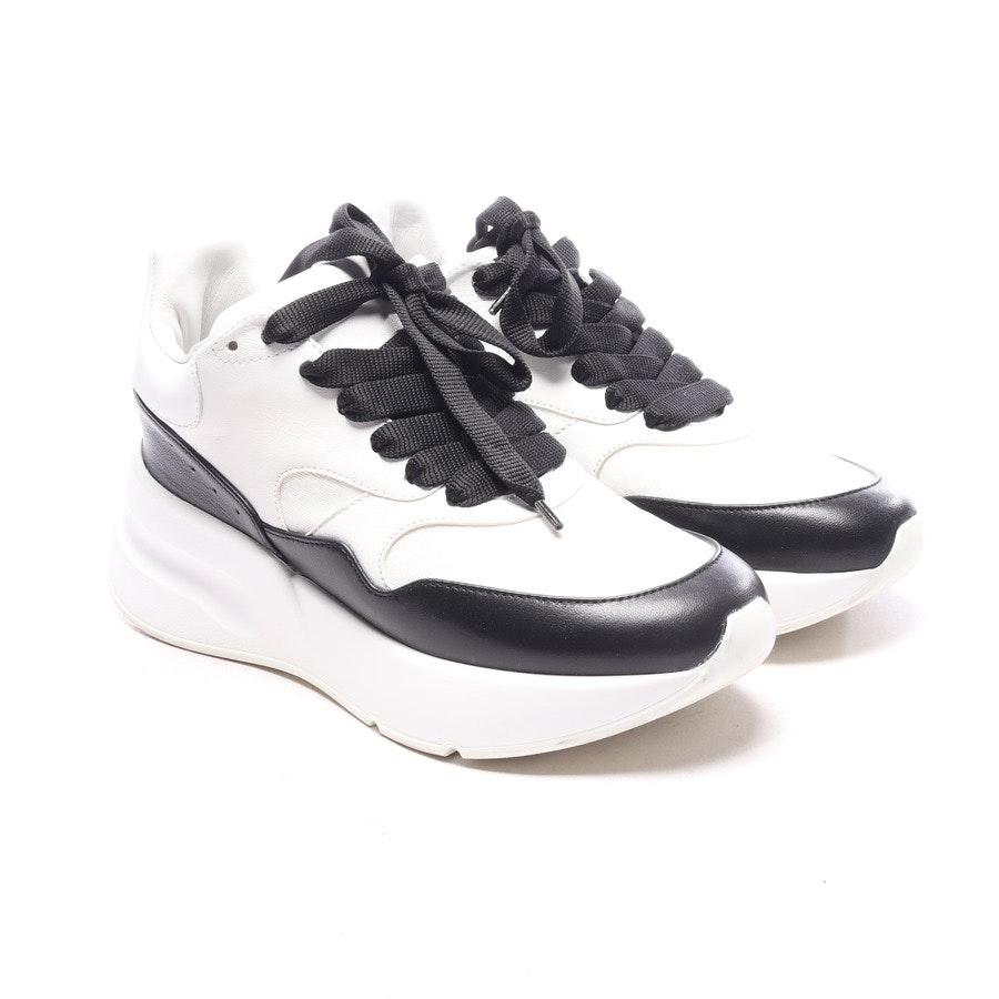 Sneaker von Alexander McQueen in Weiß und Schwarz Gr. EUR 36,5 - Runner