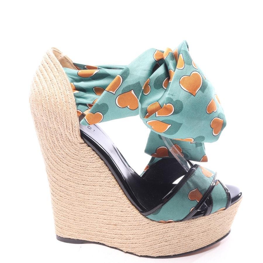 Sandaletten von Gucci in Multicolor Gr. EUR 39,5