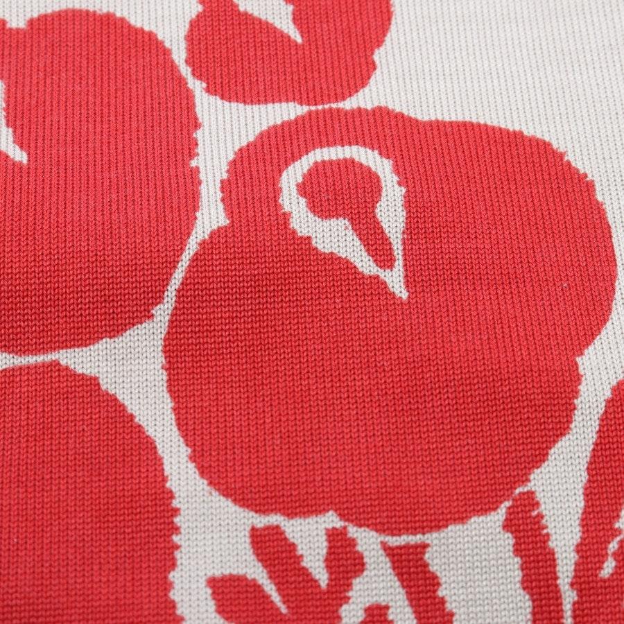 Seidenkleid von Diane von Furstenberg in Rot und Beige Gr. 44 US 14