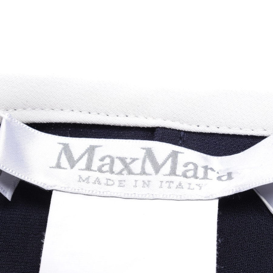 dress from Max Mara in dark blue and white size 40
