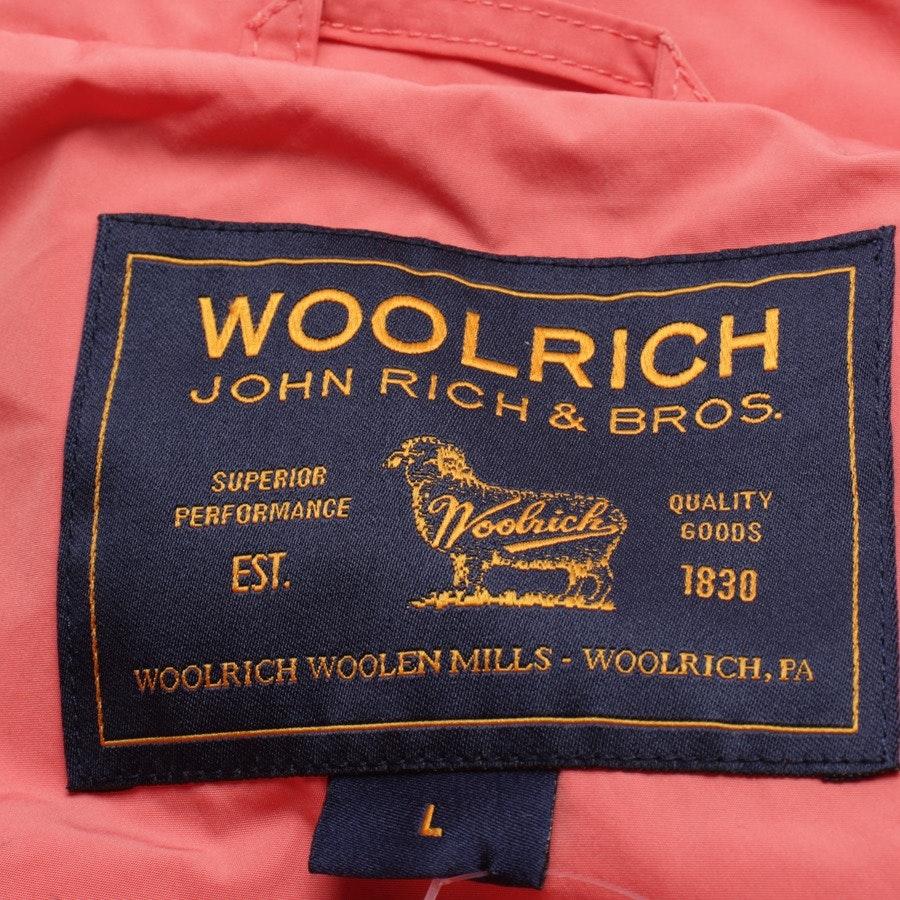 Übergangsjacke von Woolrich in Lachsrosa Gr. L