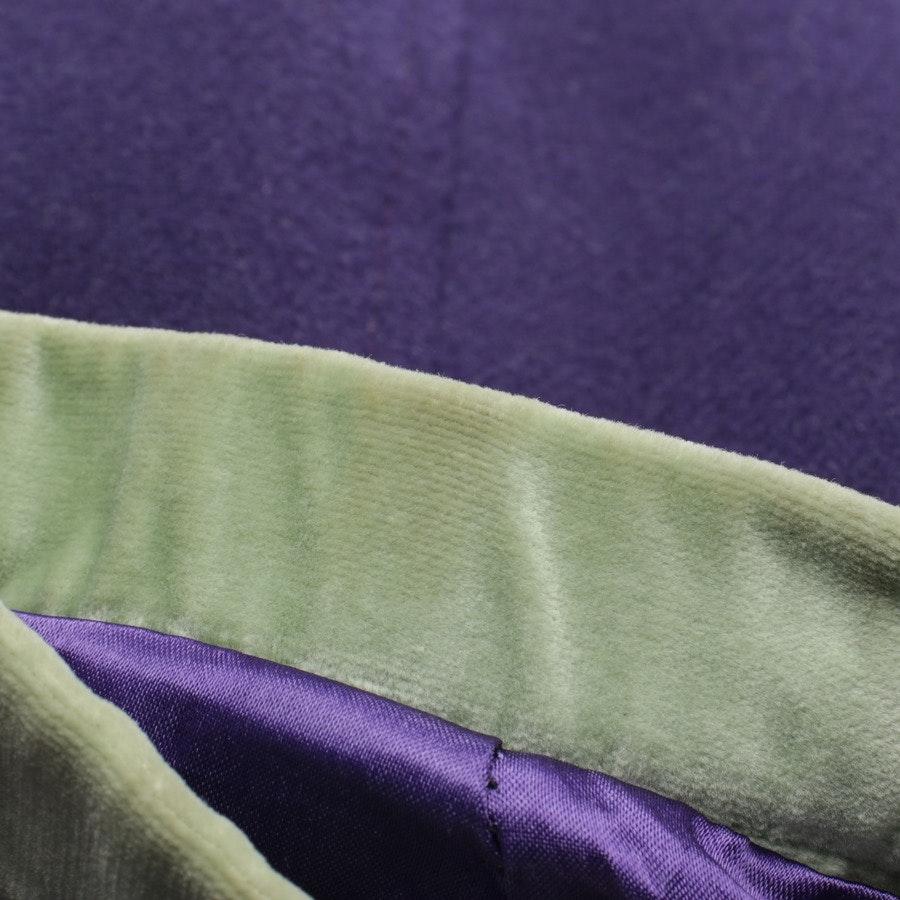 Wintermantel von Fay in Lila und Grün Gr. L