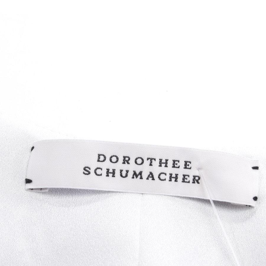 Seidentop von Dorothee Schumacher in Weiß und Schwarz Gr. 36 / 2