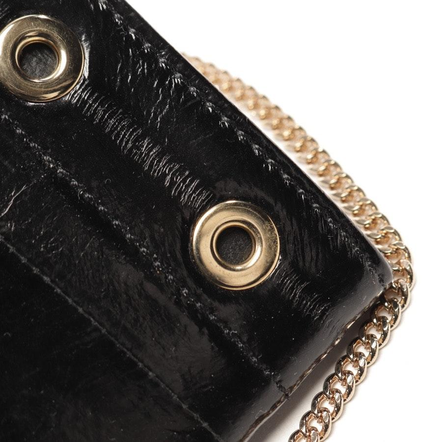 Wallet On A Chain von Versace in Schwarz
