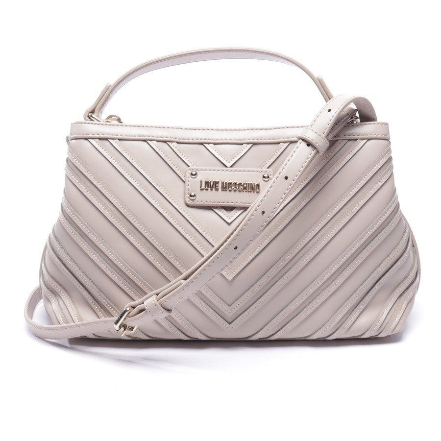 shoulder bag from Love Moschino in taupe