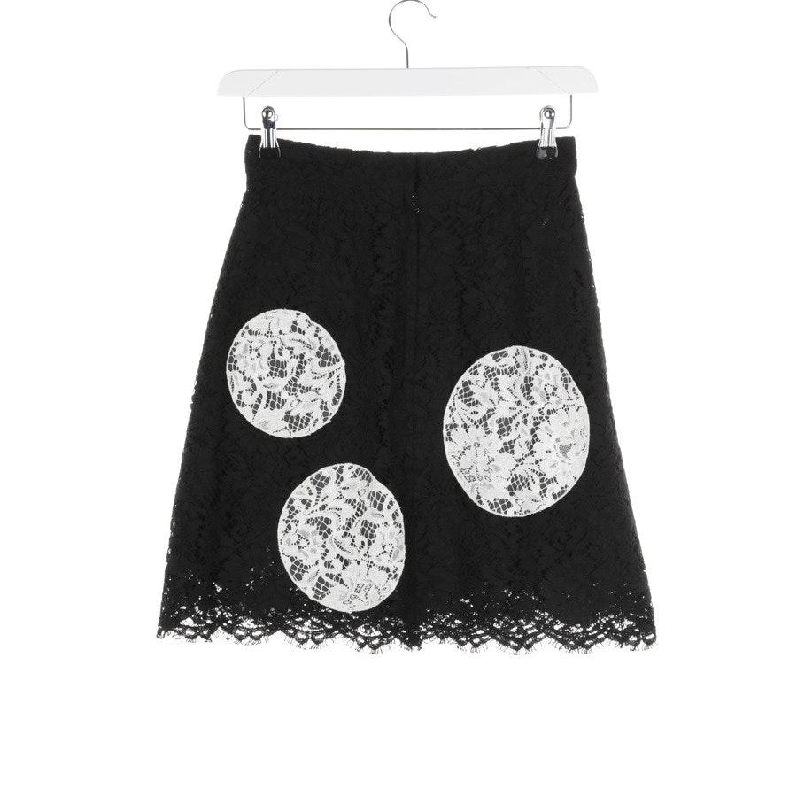 Rock von Dolce & Gabbana in Schwarz und Weiß Gr. 34 IT 40