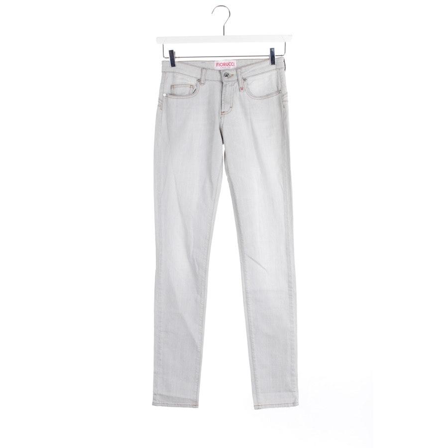 Jeans von Fiorucci in Hellgrau Gr. W25 - NEU!