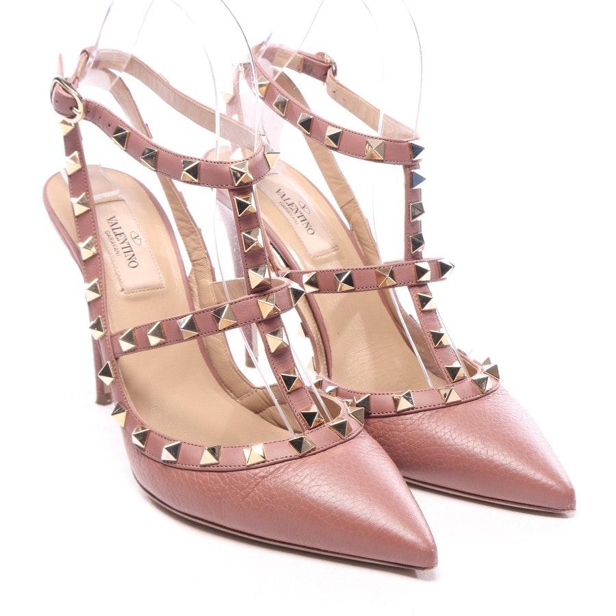 Sandaletten von Valentino in Rosenholz Gr. EUR 38,5 - Rockstud
