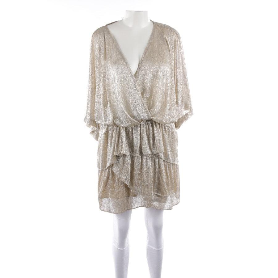 Bluse von Iro in Beige und Silber Gr. 40 FR 42