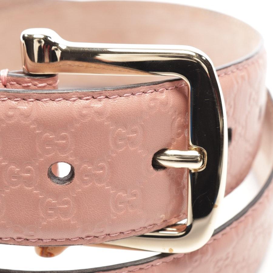 Gürtel von Gucci in Rosa Gr. 90 cm