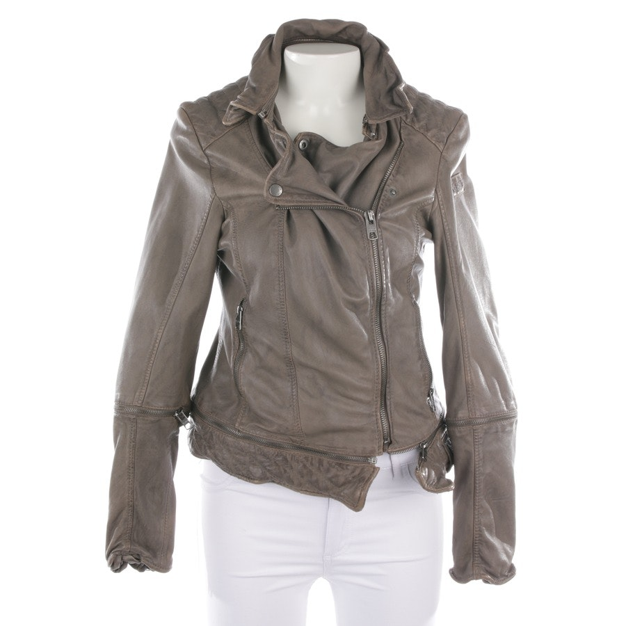 leather jacket from Tigha in brown size M