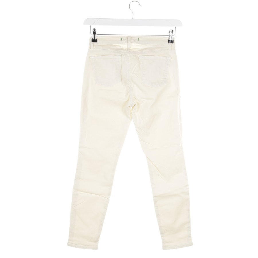 trousers from J Brand in pastel yellow size W27 - capri