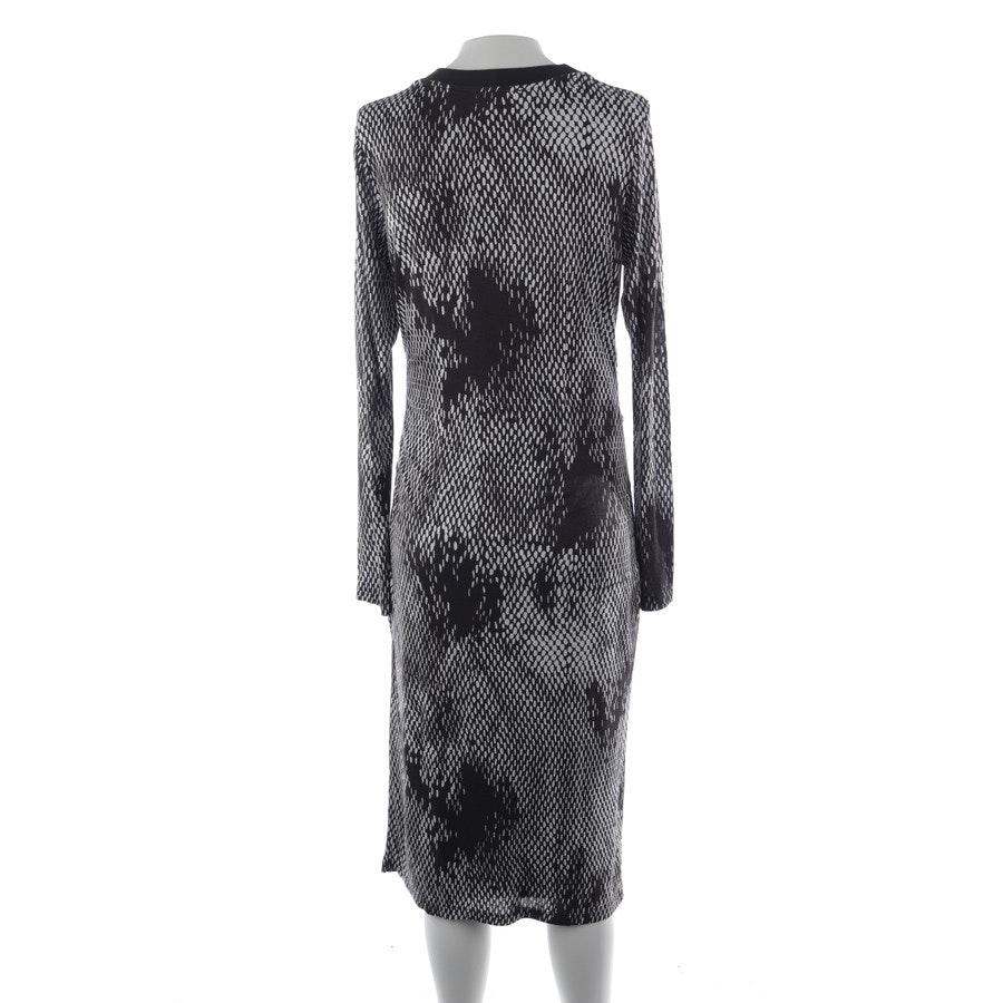 Kleid von Hugo Boss Black Label in Grau und Weiß Gr. S