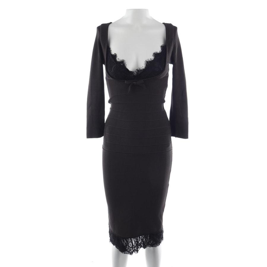 Kleid von Hervé Léger in Dunkelbraun Gr. S