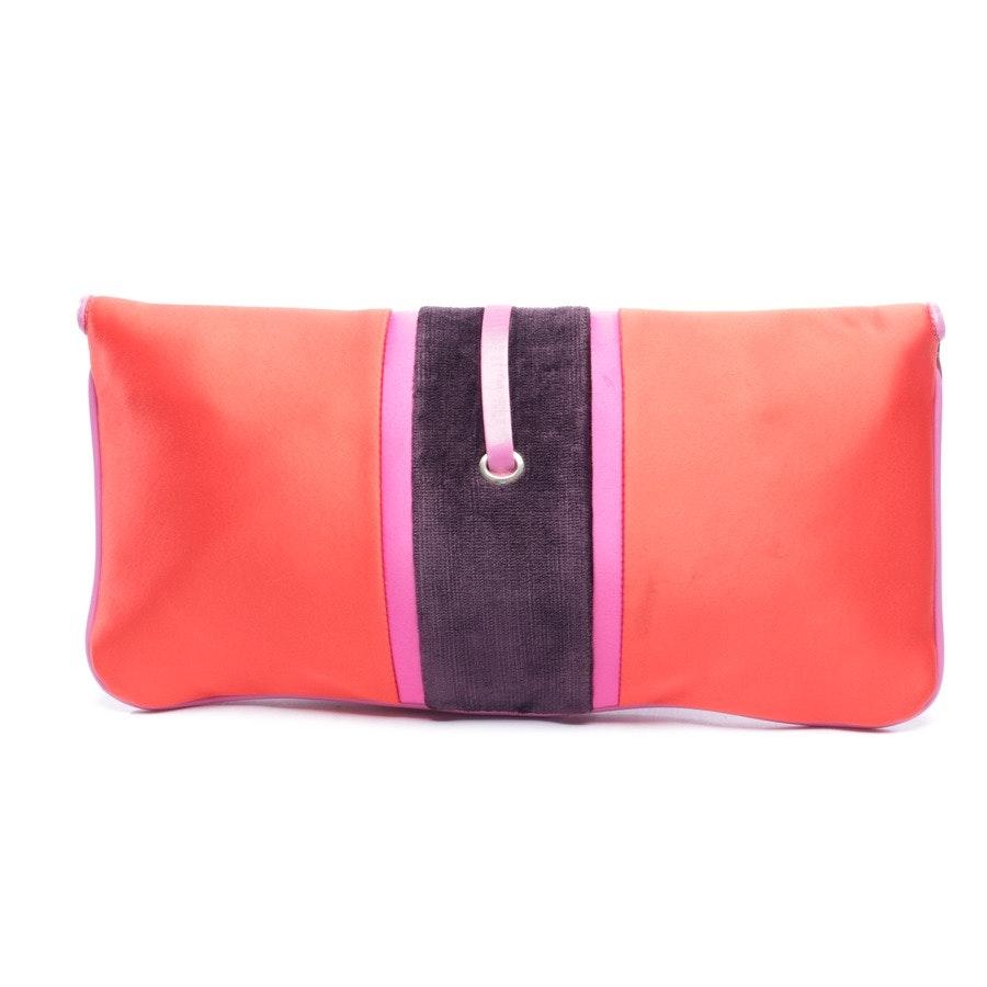 Clutch von Fay in Rot und Pink