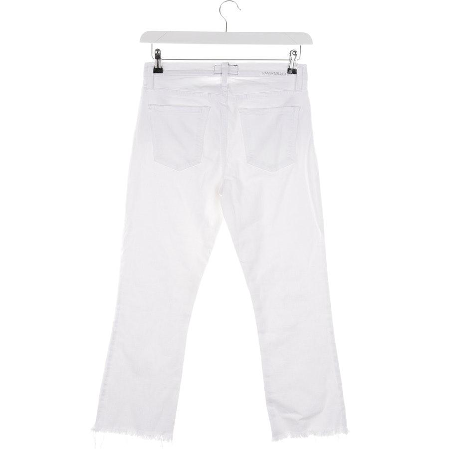 Jeans von Current/Elliott in Weiß Gr. W28