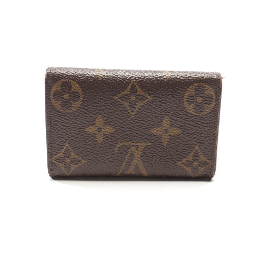 Schlüsseletui von Louis Vuitton in Dunkelbraun