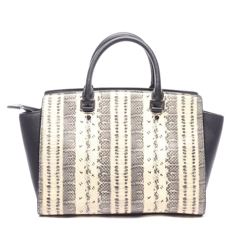 handbag from Michael Kors in beige and black