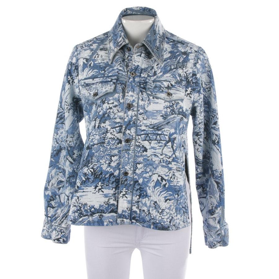 Jeansjacke von Off-White in Blau Gr. S