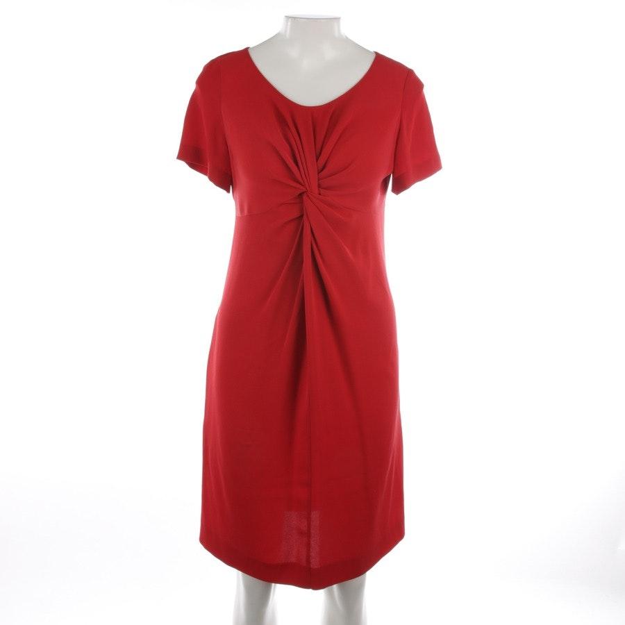 Seidenkleid von Moschino Cheap & Chic in Rubinrot Gr. 36