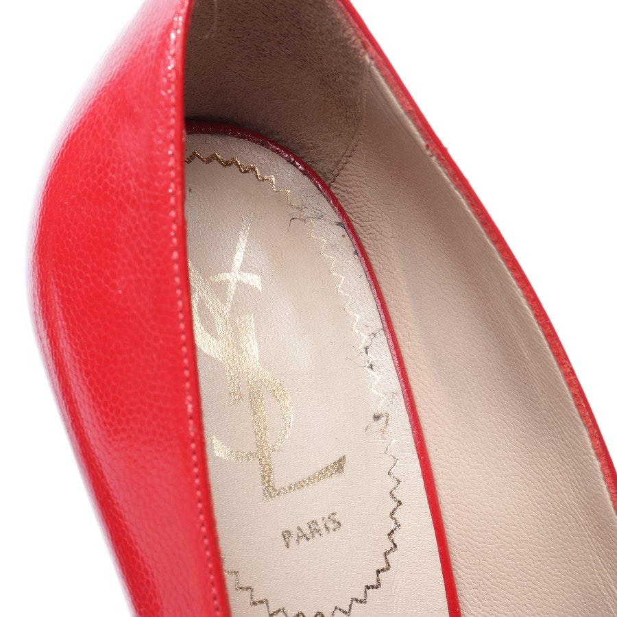 pumps from Saint Laurent in red size EUR 39 - tribtoo