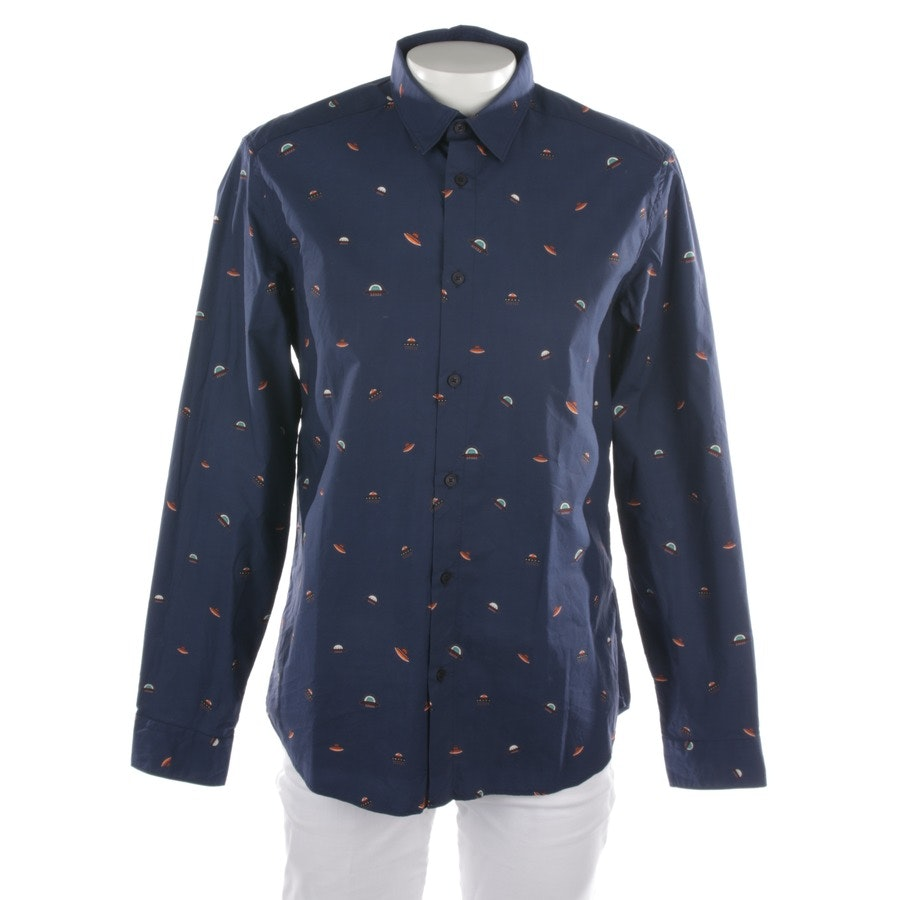 casual shirt from Kenzo in dark blue size 41-42