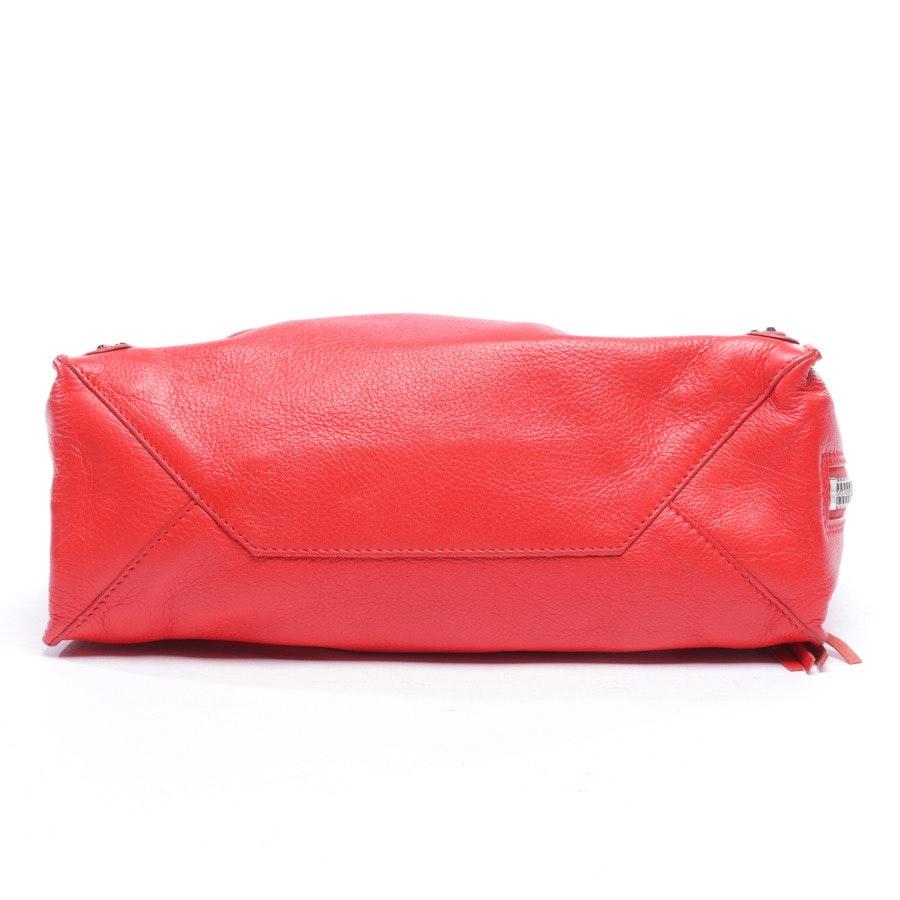 Handtasche von Balenciaga in Rot - Papier A& Zip