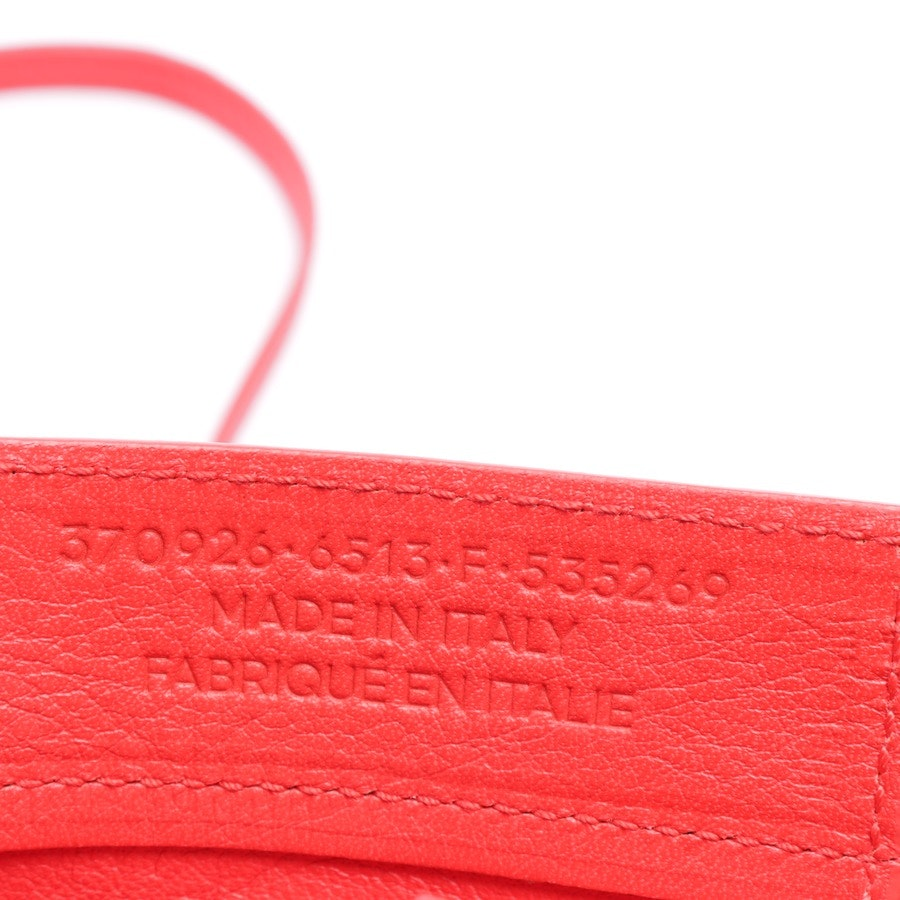 handbag from Balenciaga in red - paper a& zip