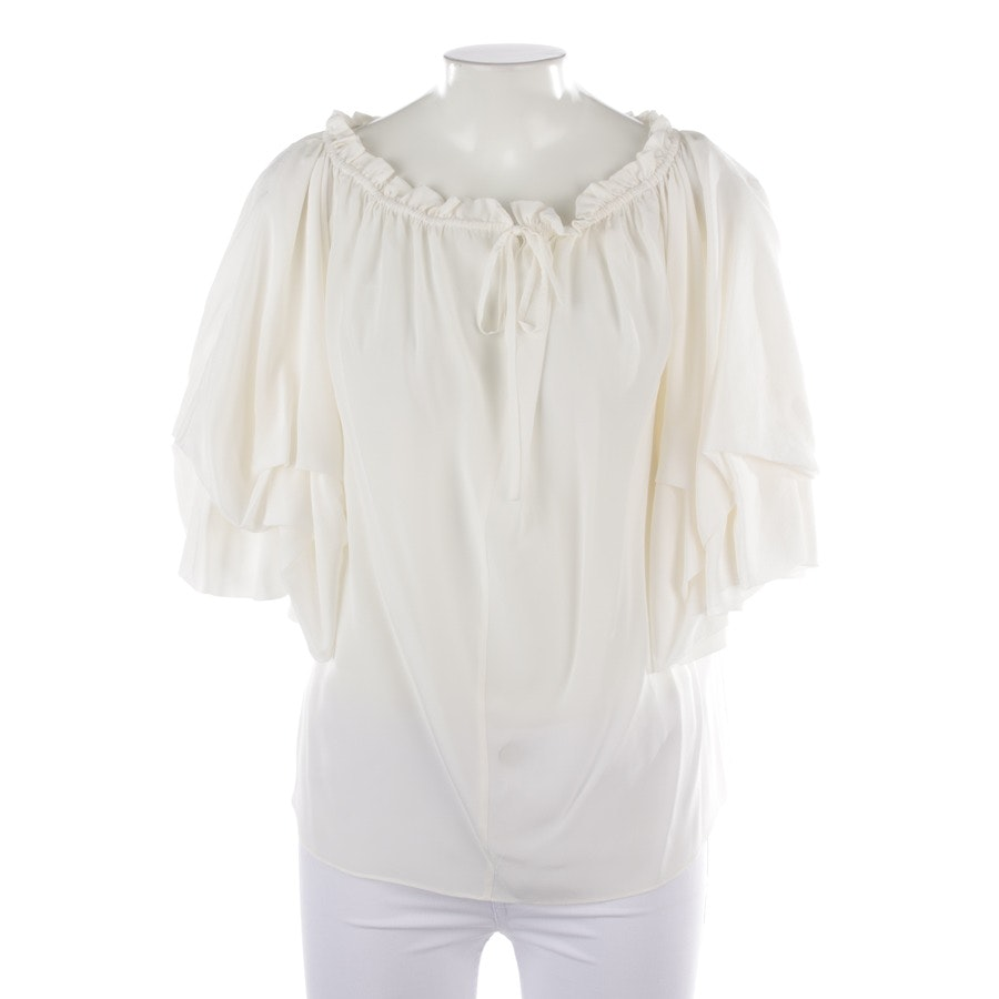 blouses & tunics from Diane von Furstenberg in cream size M - new
