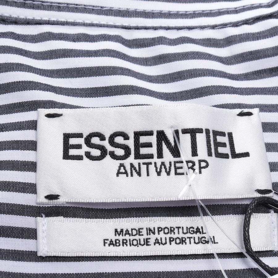 Bluse von Essentiel Antwerp in Schwarz und Weiß Gr. 40 FR 42 - Neu