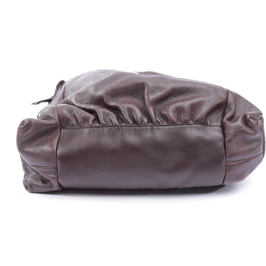 Schultertasche von Gucci in Dunkelbraun - Hysteria Bag