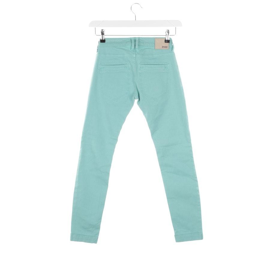 Jeans von Drykorn in Türkis Gr. W25