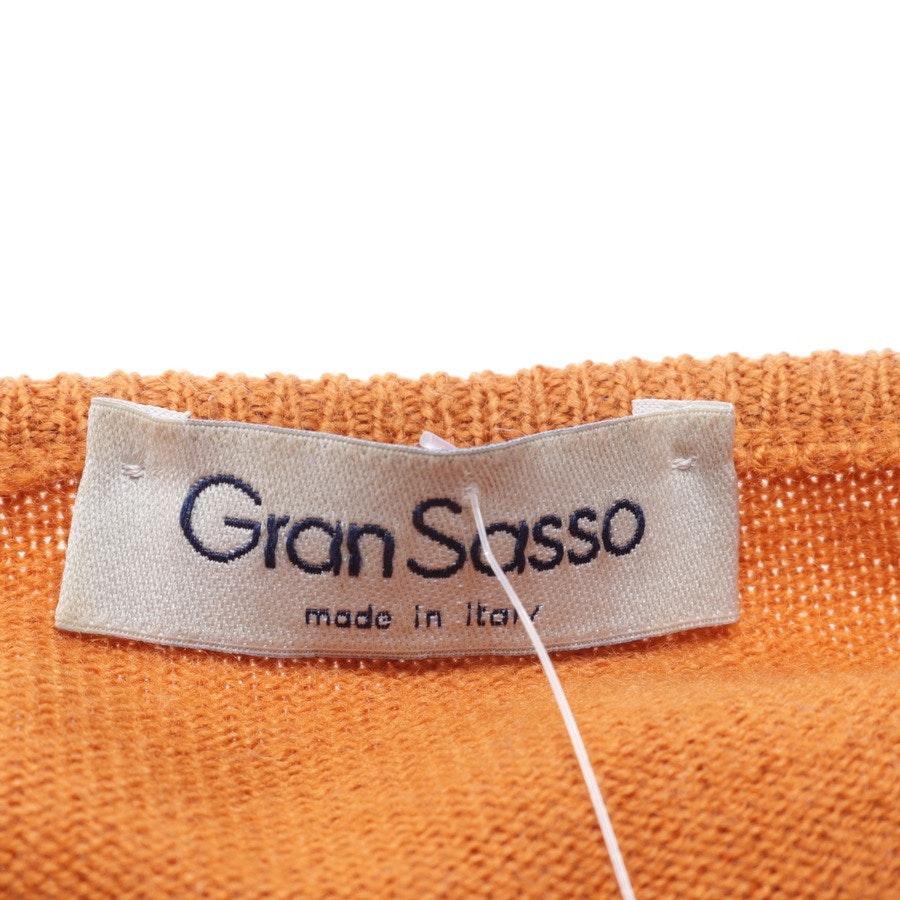 Woll-Twin Set von Gran Sasso in Braun Gr. 40 IT 46