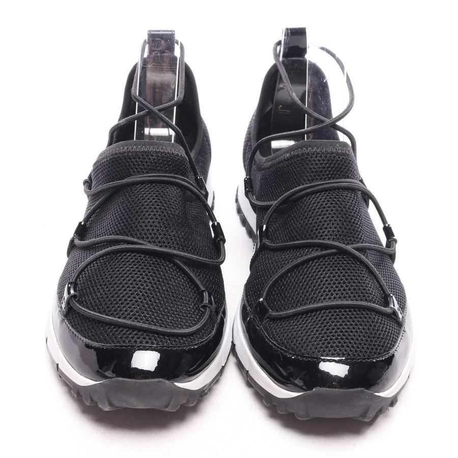 Sneaker von Jimmy Choo in Schwarz und Weiß Gr. EUR 37