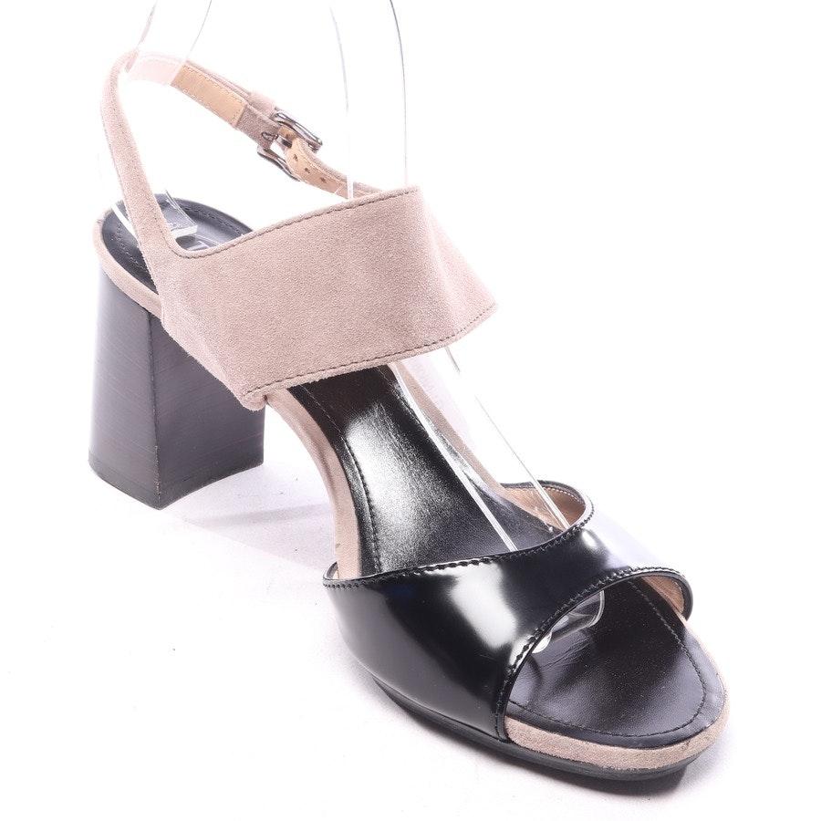 Sandaletten von Tod´s in Schwarz Gr. EUR 40