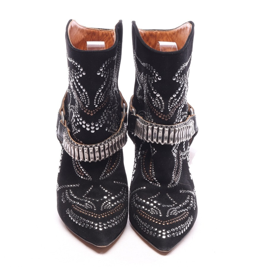 ankle boots from Isabel Marant in black and silver size EUR 38