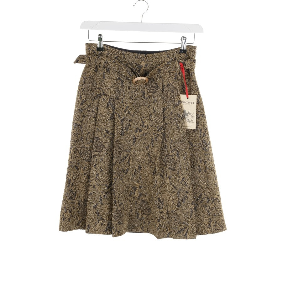 skirt from Erika Cavallini in gold and blue size 36 IT 42