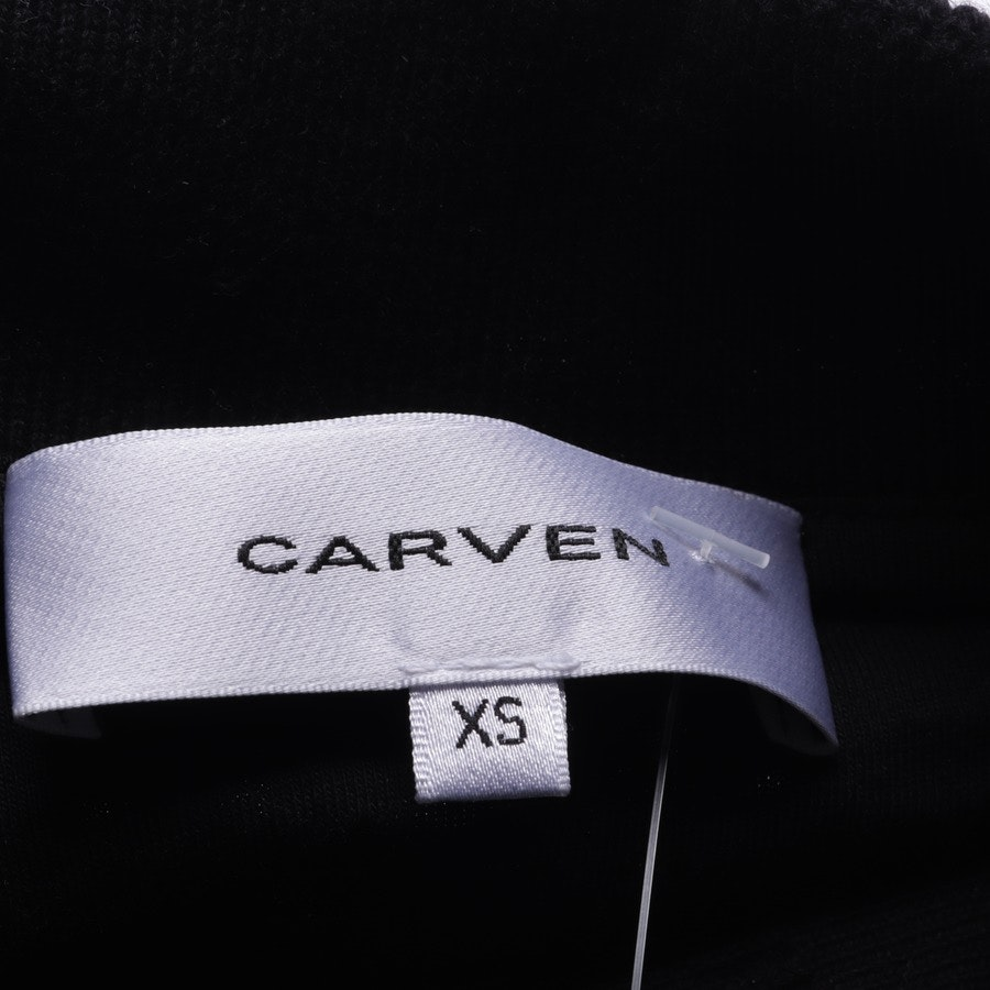 knitwear from Carven in dark blue and black size XS