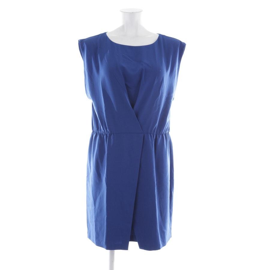 Sommerkleid von Halston Heritage in Cyanblau Gr. XL