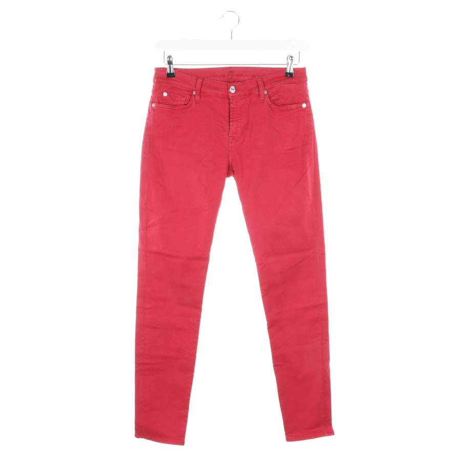 Jeans von 7 for all mankind in Rot Gr. W30
