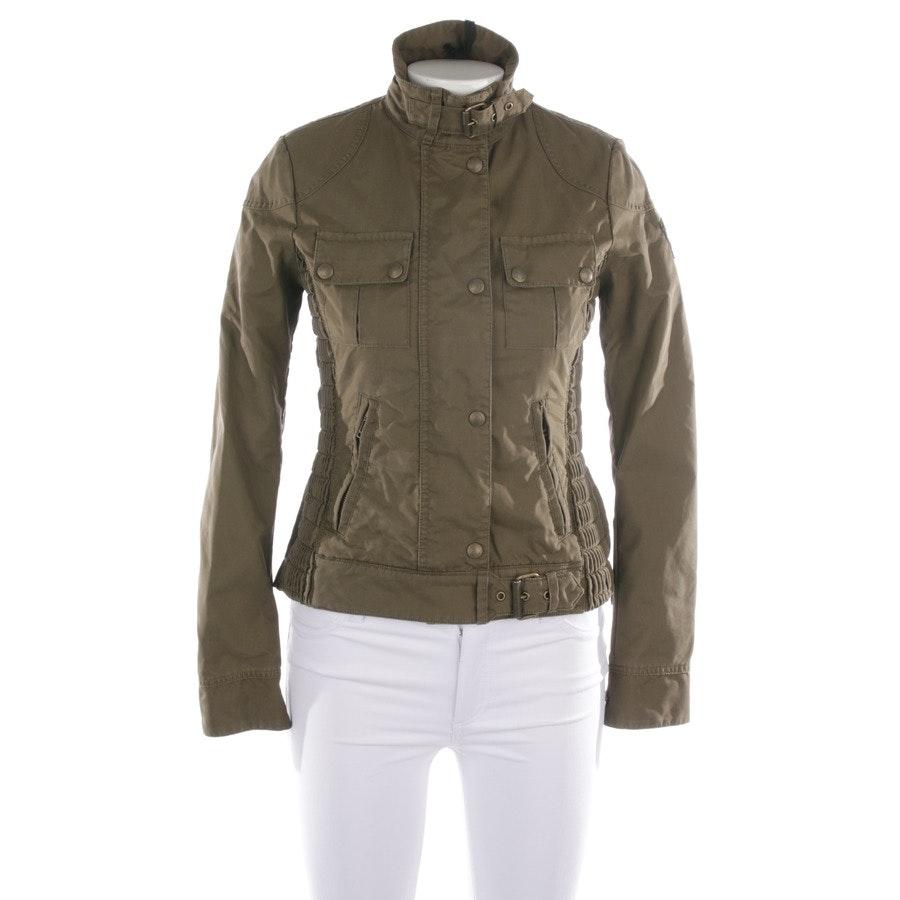 between-seasons jackets from Belstaff in khaki size 32 IT 38