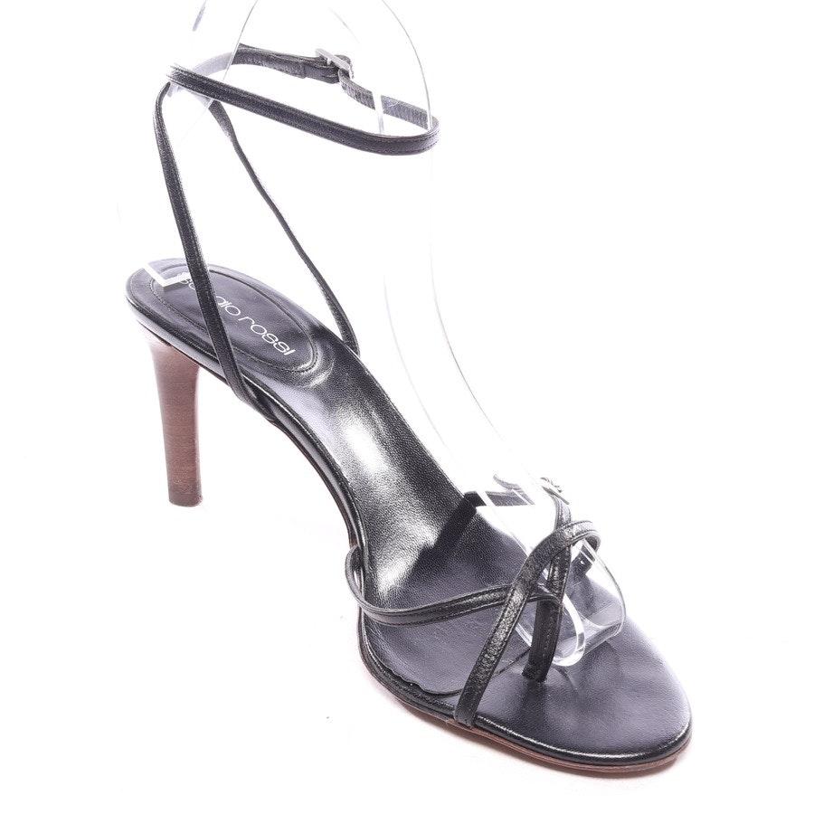 Sandaletten von Sergio Rossi in Schwarz Gr. EUR 37