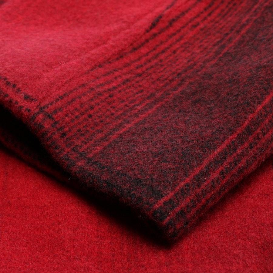 Wintermantel von T by Alexander Wang in Rot und Schwarz Gr. 32 US 2