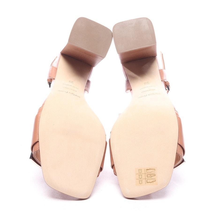 Sandaletten von Sergio Rossi in Braun Gr. EUR 38