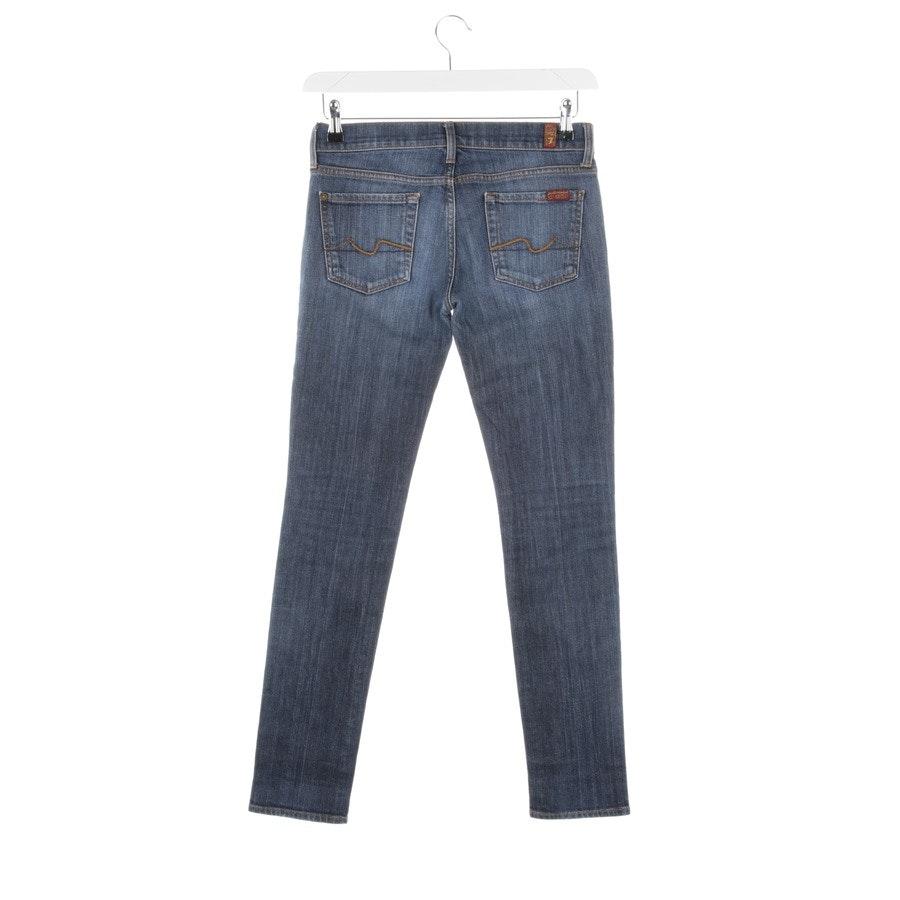 Jeans von 7 for all mankind in Mittelblau Gr. W26 - Roxanne