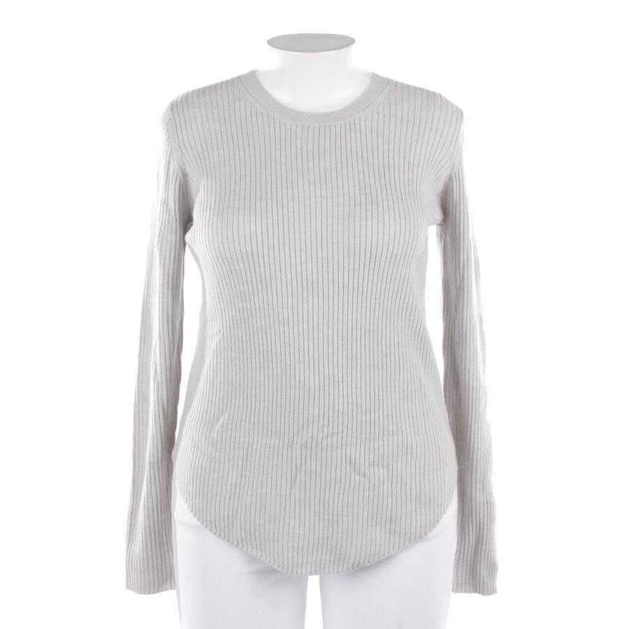 Wollpullover von Iro in Grau Gr. L