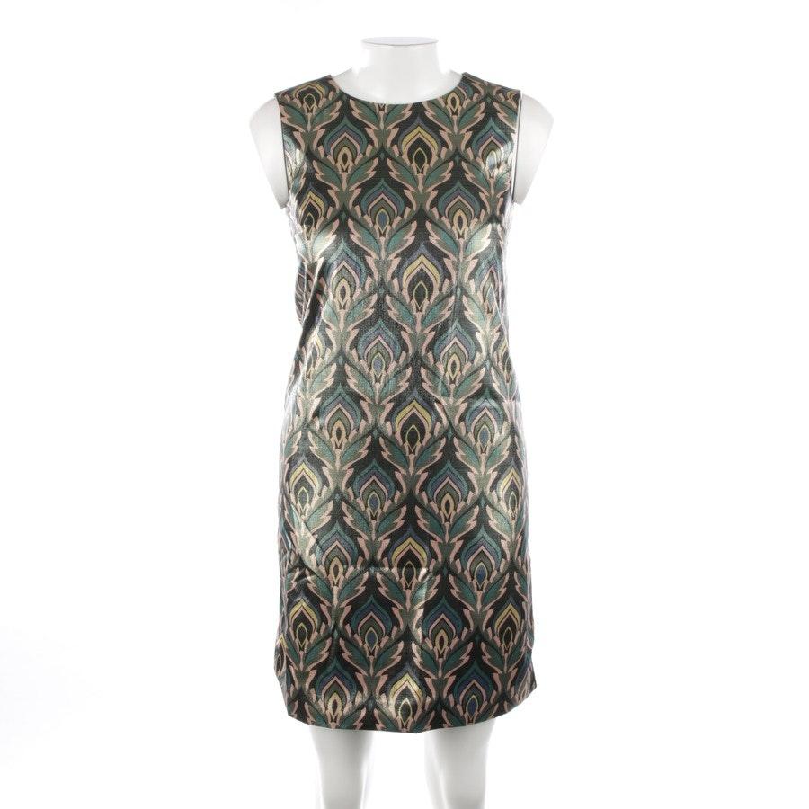 Kleid von Missoni M in Waldgrün und Multicolor Gr. 32 IT 38