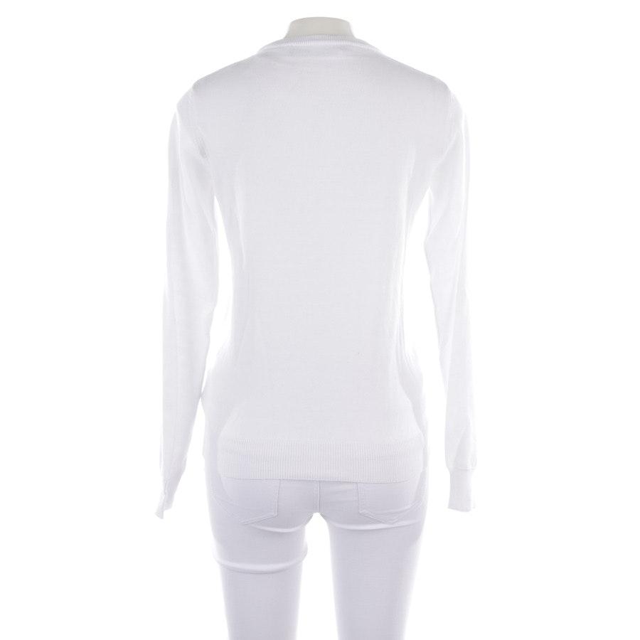 Pullover von Love Moschino in Weiß und Rot Gr. 34 IT 40