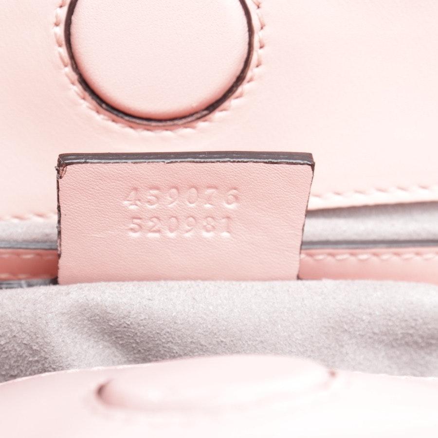 handbag from Gucci in pink and white - nappa bamboo medium nymphaea