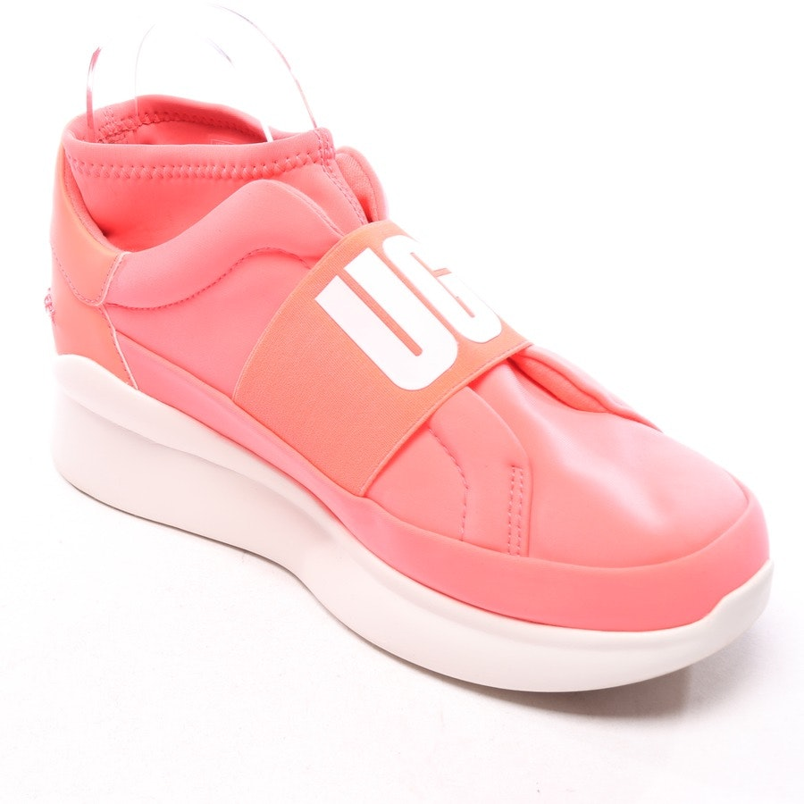trainers from UGG Australia in coral red and white size EUR 39